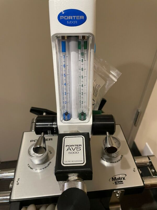 nitrous oxide flowmeter and stand
