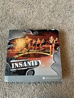 Beachbody Insanity Workout DVD Set Complete Workout Exercise