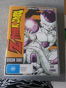 Dragon ball Z complete season three dvd set Ferntree Gully Knox Area Preview