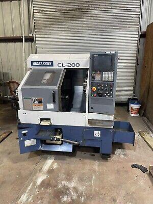 Mori Seiki Cl-200 Cnc Turning Center Lathe