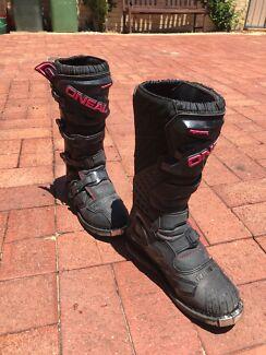 Womens moto bike boots