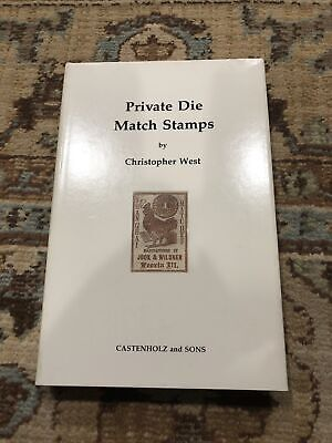 West, Christopher (Elliot Perry). Private Die Match Stamps.