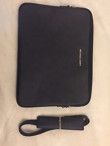 Black Michael Kors Laptop Case
