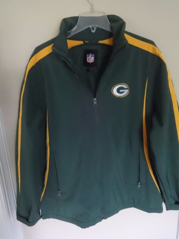 finest selection f9070 e8a96 Vintage NFL Green Bay Packers Premium Lined Jacket Men Large ...