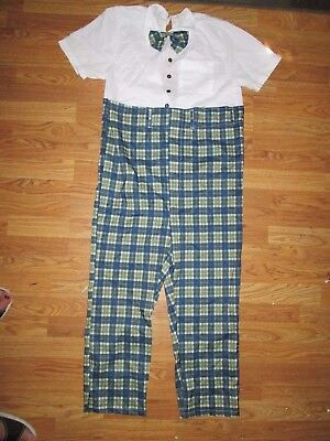 Mens CLASS NERD GEEK Halloween Costume One Size Fits Most by Forum](Mens Nerd Costume)