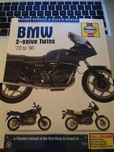 BMW 2-Valve Twins Manual/ Motorcycle Electrical Systems Kalgoorlie Kalgoorlie Area Preview