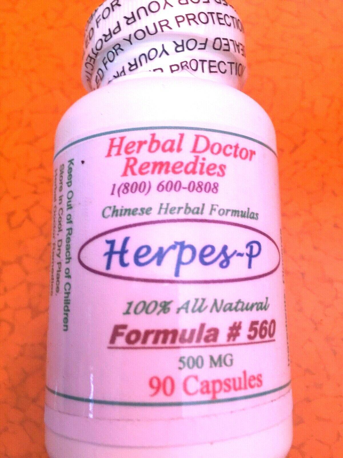 Herbdoc TCM Herpes P 90 Caps boosts immune  against virus  reduce internal heat