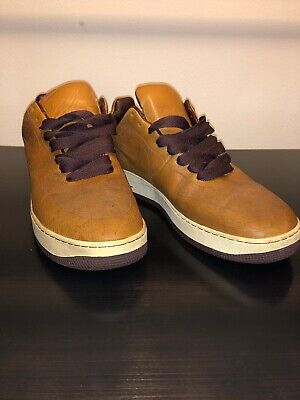 Air Force 1 Laser By Mark Smith Us Mens Size 13 Med Brown Sail-Eldorado Preowned