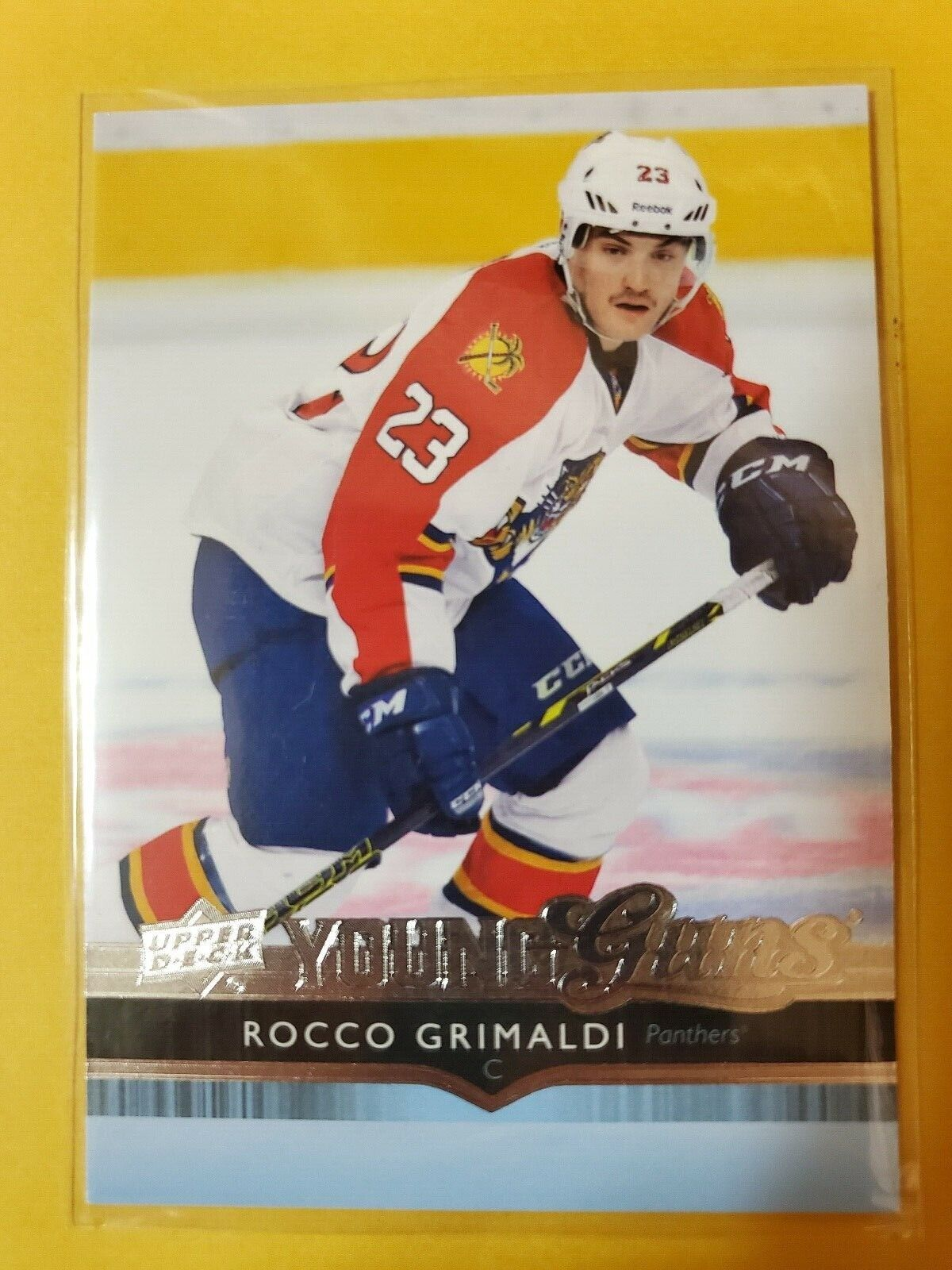 2014-15 Rocco Grimaldi Young Guns Update Rookie - Nashville Predators