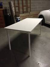 IKEA DESK WHITE Huntleys Cove Hunters Hill Area Preview