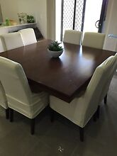 Solid wood dining table Coomera Gold Coast North Preview