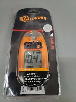 New Gallagher Electric Fence Volt Meter Tester Ships Free