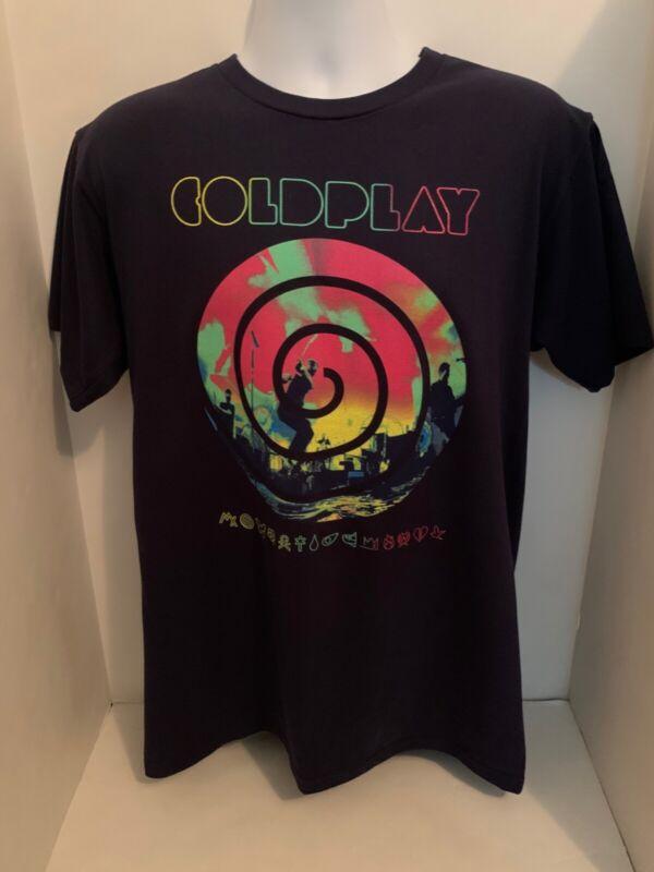 Coldplay 2012 Mylo Xylot Concert Tour T-Shirt Mens Large MINT CONDITION