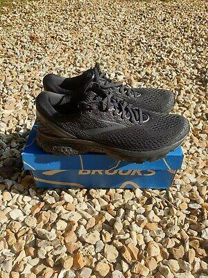Brooks Ghost 11 Mens Shoes Black UK 10.5 / EU 45.5 Unused