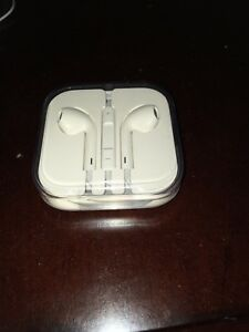 Two sets of BRAND NEW iPhone earbuds