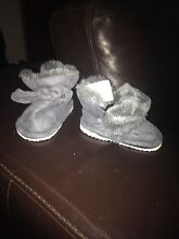 Grey winter boots size 1. Never worn Bundall Gold Coast City Preview