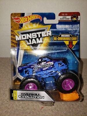 Hot Wheels Monster Jam 1:64 Diecast Truck Overkill Evolution