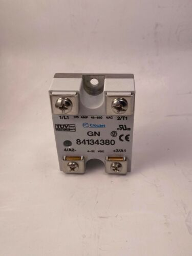 Crouzet 84134380 Solid State Relay, 125A, 48-660VAC, 4-32VDC, New