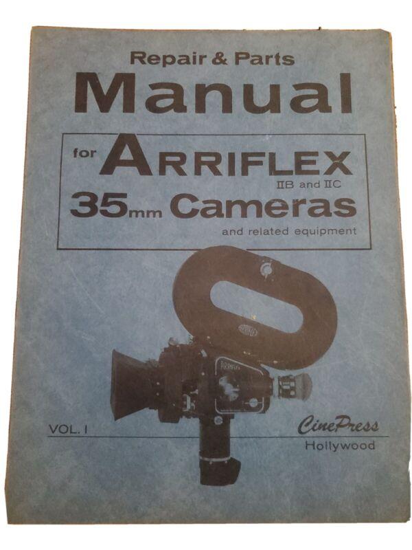 RARE Arriflex 35 mm Camera Manual 1966 Repair and Parts related equipment