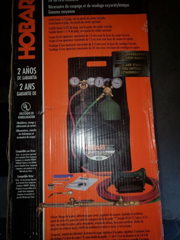 Hobart 770500 Acetylene Tag-A-Long Kit Full Bottles