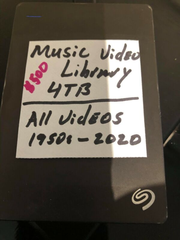 Video Music Library (mp4) (DJs or Music Lovers)