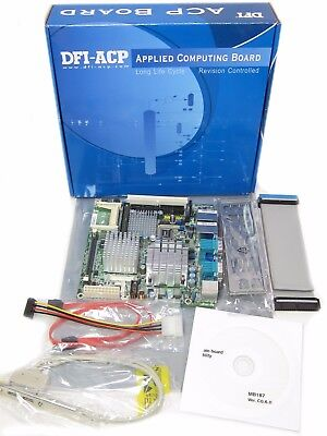 DFI G5C100-N10C G5C102-073G   mPGA478A Intel Mini-ITX Motherboard + Core 2 CPU for sale  Shipping to India