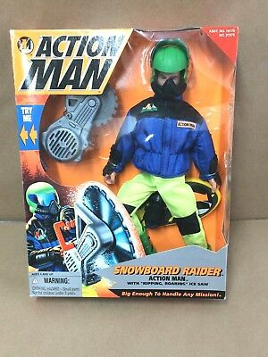 Kenner - Action Man Snowboard Raider- Kenner -1996 for sale  Shipping to India