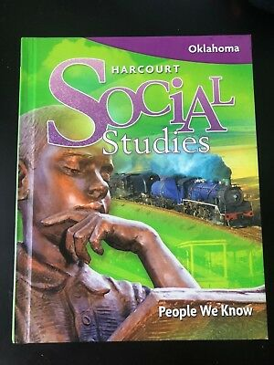 GRADE 2 - Harcourt Social Studies Student Textbook Homeschool People We Know (Harcourt Social Studies People We Know Grade 2)