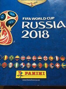 FIFA 2018 stickers