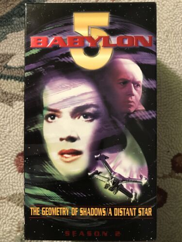 Babylon 5 The Geometry Of Shadows A Distant Star VHS  - $1.30