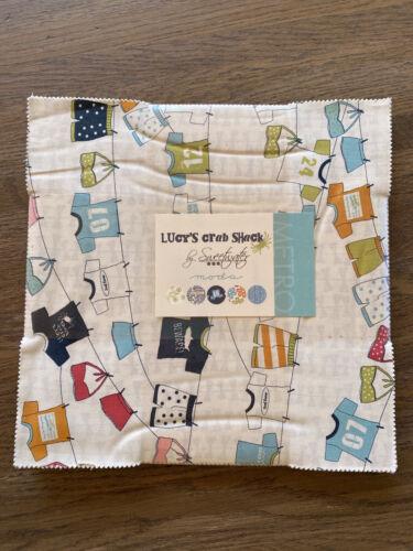 Lucy s Crab Shack Sweetwater Moda Fabrics Layer Cake - $45.01