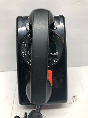 Vintage Western Electric Bell System Wall Mount Rotary Phone, used for sale  Shipping to Canada