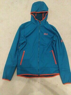 Jack Wolfskin mens softshell jacket size medium blue&orange new no tags