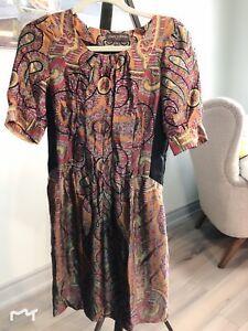 LV Louis Vuitton dress, silk dress