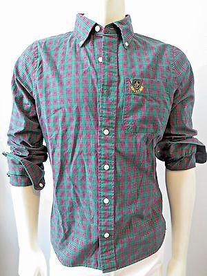 Abercrombie   Fitch Men Ouluska Pass Plaid Button Front Shirt Nwt M L Xl Xxl
