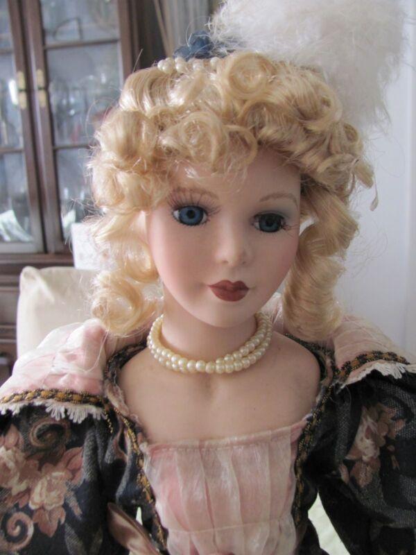 Porcelain Victorian Doll