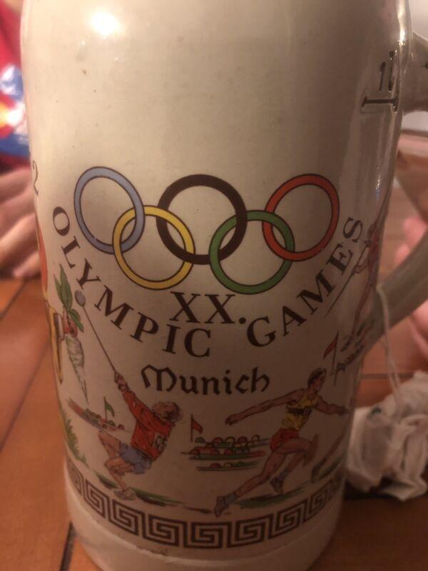 1972 Olympic Games West German Beer Mug