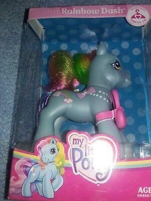 MLP My Little Pony Rainbow Dash Dress-Up Purse 2008 New Sealed - Mlp Rainbow Dash Dress