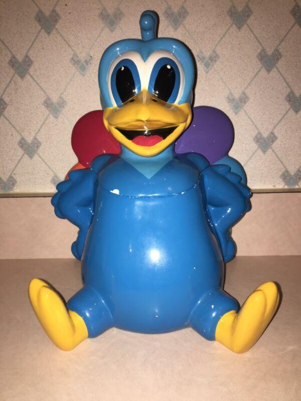 Vintage NBC Peacock Cookie Jar!