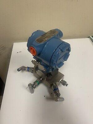 3051 Rosemount New Pressure Transmitter Hart With Manifold