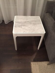 2 marble end coffee tables from  STRUCTUBE