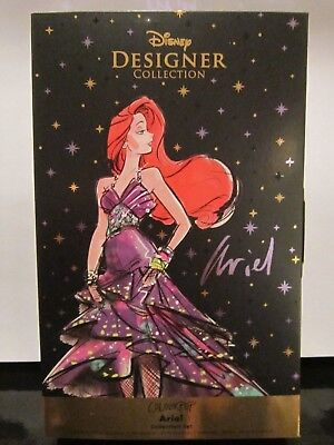 (DISNEY DESIGNER x COLOURPOP LTD ED ARIEL PRINCESS COLLECTION BOXED 3 PIECE SET!)