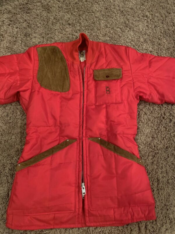 BOB ALLEN Vintage Made/USA SHOOTING HUNTING Quilted Coat Jacket Med. VERY NICE!