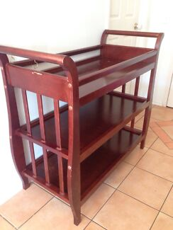 Baby Change Table - wooden Southport Gold Coast City Preview
