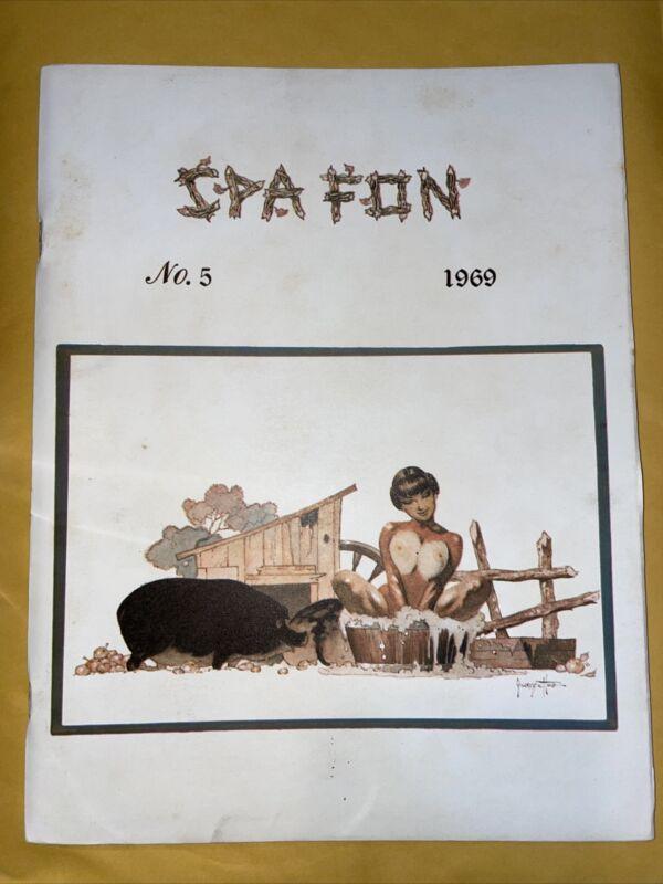 Spa Fon # 5, 1969, Frazetta, Wrightson, Steranko, Kaluta