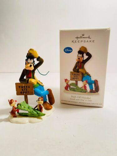 Hallmark Keepsake Half-Off Hijinks Goofy and Chip