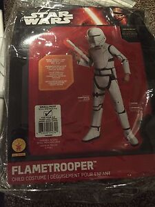 Flame trooper costume for boys