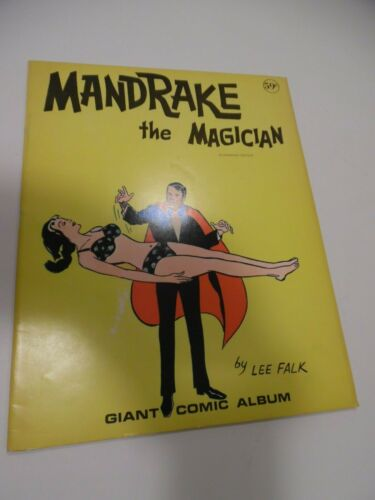 MANDRAKE THE MAGICIAN BY LEE FALK GIANT COMIC ALBUM BOOK  AUTHORIZED  1972