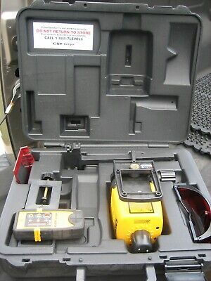 Cst Berger Lasermark Lm30 Lm-30 Rotary Laser Level W Ld-100n Detector Case