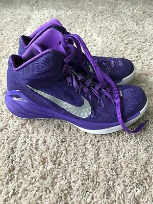 Mens Nike Hyperdunk 2014 TB Basketball Shoe 653483-505 Purple Size 8.5 Rare EUC